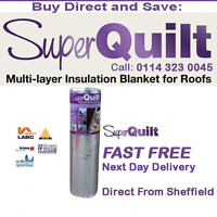 SuperQuilt LG Spec. The Highest Performance Multifoil Insulation For Roofs Walls
