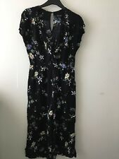 Ladies New Look Floral Culotte Jumpsuit Size 8 (4)