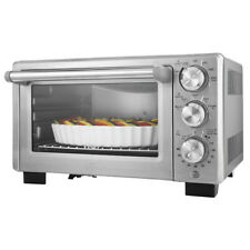Convection Cooking Toaster Oven Electric Digital Large 6 Slice Pizza Stainless