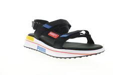 Puma будущая всадника сандалии 37231804 мужской черный холст спортивные сандалии туфли