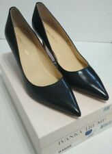 IVANKA TRUMP Formal Shoes Women 8.5 M ITBONI Black Leather with Original box