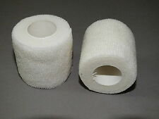 20   BANDAGES COHESIVE WRIST ANKLE DOGS CATS ANIMALS 5c x4.5mt WHITE