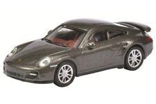 Schuco 26199 - 1/87 Porsche 911 (997) Turbo - Grau Metallic - Neu