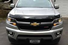 AVS 15-18 Chevy Colorado Aeroskin Low Profile Acrylic Hood Shield Smoke