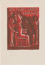 ex-libris karel sedlacek (florian michael)