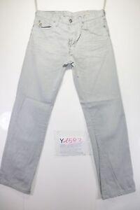 G-Star Lumber Original (Cod. Y1593) tg47 W33 L34 jeans vita alta usato vintage