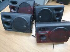 skytec dj speakers 170.239 4 SPEAKERS LOT
