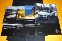 2019 Mercedes GLC 300 350 43 63 Owners Manual SET 19 GLC300 4MATIC GUIDE +CASE