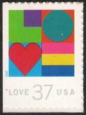 USA Sc. 3657 37c Love 2002 MNH bklt. single