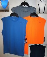 NEW NIKE Dri Fit  Mens Tank Top Sleeveless Athletic Shirt S M L XL 2XL