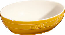 STAUB Céramique Bol Ensemble à salade 2 pcs. Coupe de fruits jaune moutarde 23 &