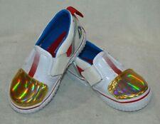 Vans Toddler Boy's Asher V Vanstronaut White/Red Skate Shoes - Size 6 NWB