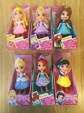 Disney Princesas Mini Muñecas Del Niño X 6-Nuevo