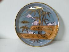 Antique blue lustre hand painted Nippon dish 1928