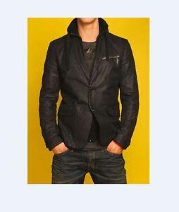 DIESEL jackets JASSIM Blazer jacket BLACK Size S, M, L