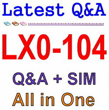 CompTIA Linux+ [Powered by LPI] - Exam 2 LX0-104 Exam Q&A PDF+SIM