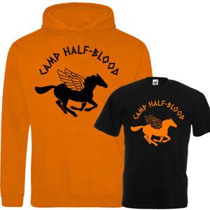 Camp Half Blood Percy Jackson Pegasus Kids Hoodie Tee Novelty Kids Fun Cool Gift