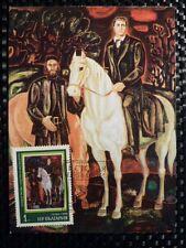 BULGARIA MK 1978 GEMÄLDE PFERD HORSE MAXIMUMKARTE CARTE MAXIMUM CARD MC CM a8644