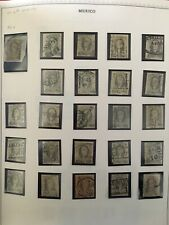 Mexican Stamp #8 - 24 Different Sub-Office Cancels