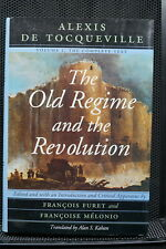 French Revolution The Old Regime & The Revolution Tocqueville Book