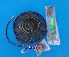 For 7 inch 12V Slim Radiator Cooling Thermo Electric Fan & Mounting kit