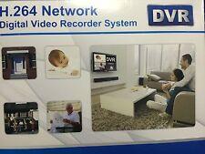 4ch DVR Digital Video Recorder H.264 Surveillance Recording Standalone Video HQ