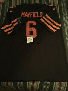Baker mayfield autographed jersey
