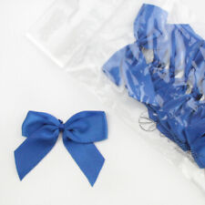 5cm Satin Bows Self Adhesive Royal Blue