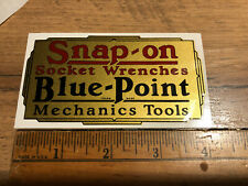 Snap-on Socket Wrenches Socket Blue Point Decal restore tool box vintage rat rod
