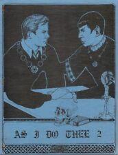 "Star Trek Fanzines ""As I Do Thee 1-21"" K/S - ADULT"