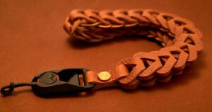 C.K Mike handcrafted Transformer camera wrist strap with Peak Design Anchor.