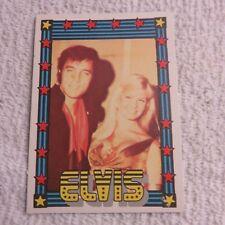 1978 Monty Gum - ELVIS PRESLEY - Club Card From Holland - (Blank Back) - Card #8