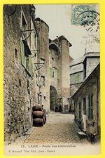 cpa France 02 - LAON (Aisne) Fortifications PORTE CHENIZELLES Tonneaux Urinoir