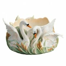 Franz Porcelain Swan Lake Collection Bowl, Factory New
