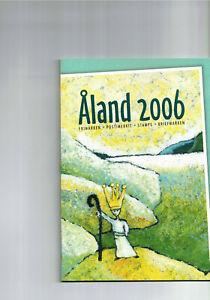 Aland-- Jahresbriefmarkenheft 2006  postfrisch