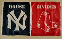 Boston Red Sox New York Yankees House Divided Flag 3ft x 5ft Baseball MLB Banner