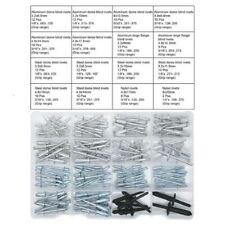 Blind Rivets Multiple Sizes Rivet Assortment Kit155pcs