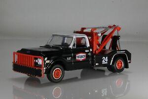 1970 Chevy C-30 Texaco Wrecker / Tow Truck, DRW, Dually,1:64 Diecast Model Black