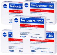 5x TESTOSTEROL 250 Megabol Testosteron Booster 30 Kaps Probolan Testo Anabole
