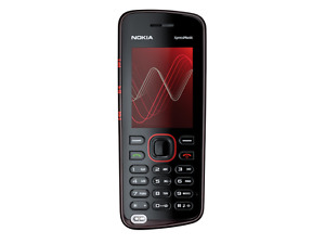 Nokia Xpress Music 5220 - RED LOCKED ORANGE  Mobile Phone