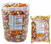 Carp fishing boilies off cuts & over runs mixed sizes and colour 1.9kg-25kg