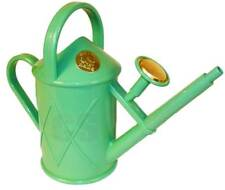 HAWS HERITAGE INDOOR 1 LITRE WATERING CAN BRASS ROSE SAGE GREEN - OUTDOOR