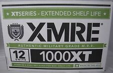 XMRE 1000XT Case of 12 Full MRE Military Grade Meals Emergency Survival Food
