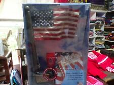 New in Box*The Wave Stars & Stripes Realistic Waving Action Flag