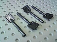 Lego Accessory Spade Shovel [3837] Black x4