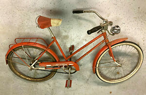 Columbia 1937 Fire Arrow Bendix 2-speed, matching seat/pedals Vintage