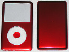 Apple Ipod Classic 6th, 7th Gen Custom Candy Red-Colored Front/Back/Button