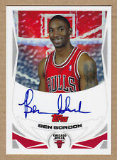 04-05 2004-05 Topps Rookie Photo Shoot Ben Gordon Auto RC Autograph Rookie Card