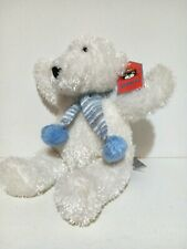 Jellycat Toastie Polar Bear with Blue Scarf  Plush Soft Toy 10 inches