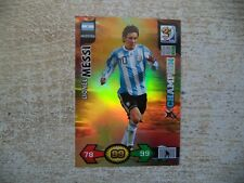 Panini Adrenalyn XL World Cup Lionel Messi Champion 2010 South Africa WM